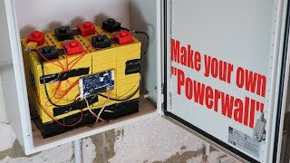 "Make your own ""Powerwall"" (Big LiFePO4 Battery Pack!)"