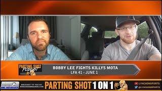 "Bobby Lee expecting a ""Rock 'Em Sock 'Em"" type battle at LFA 41 against Killys Mota"