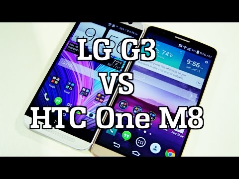LG G3 vs HTC One (M8)
