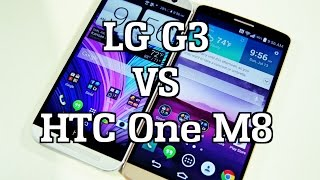LG G3 VS HTC One M8
