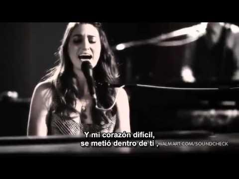 sara bareilles love song subtitulada