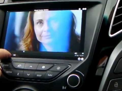Hyundai i40 LED Screen Hack to watch AVI Films