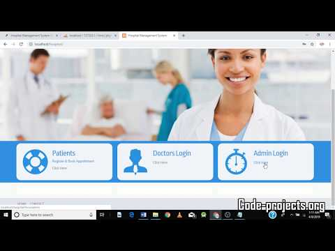 Hospital Management System Using PHP Free Download With Source Code
