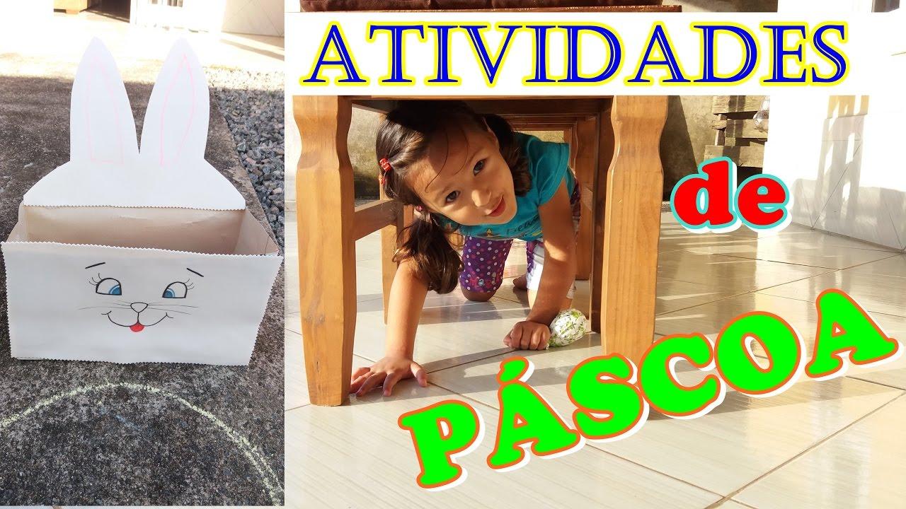 3 ATIVIDADES PARA EDUCAÇÃO INFANTIL DE