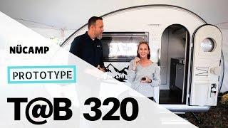 T@B 320 Prototype Teardrop Trailer By NüCamp RV