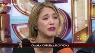 la cámara oculta de José María Listorti a Flor Vigna