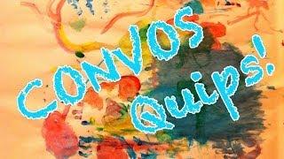 """Convos Quips # 1 - """"raisins"""" - Also: Twitter Talk"""
