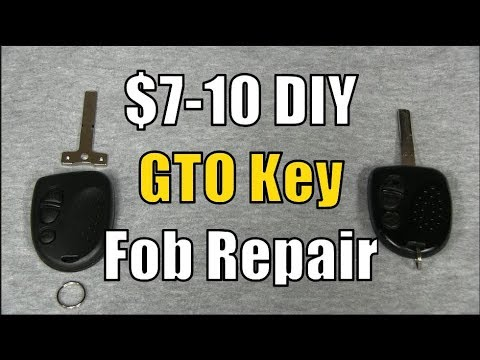 $7-10 DIY – Pontiac GTO Ignition Key Fob Repair 2004-2006 (Holden Monaro)