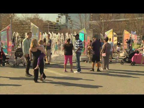 Crowds Pack Inner Harbor As Baltimore Shines For Light City