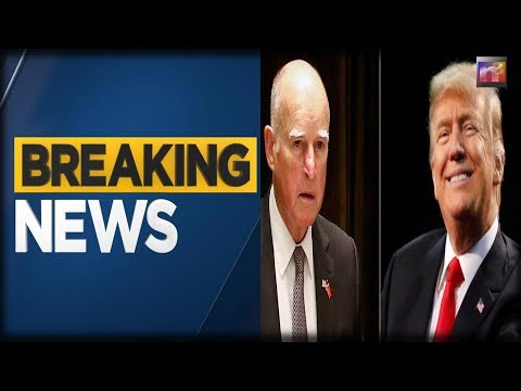 BREAKING: Trump Just TRASHED Failed Governor Jerry Brown - There is no walking away from this one!