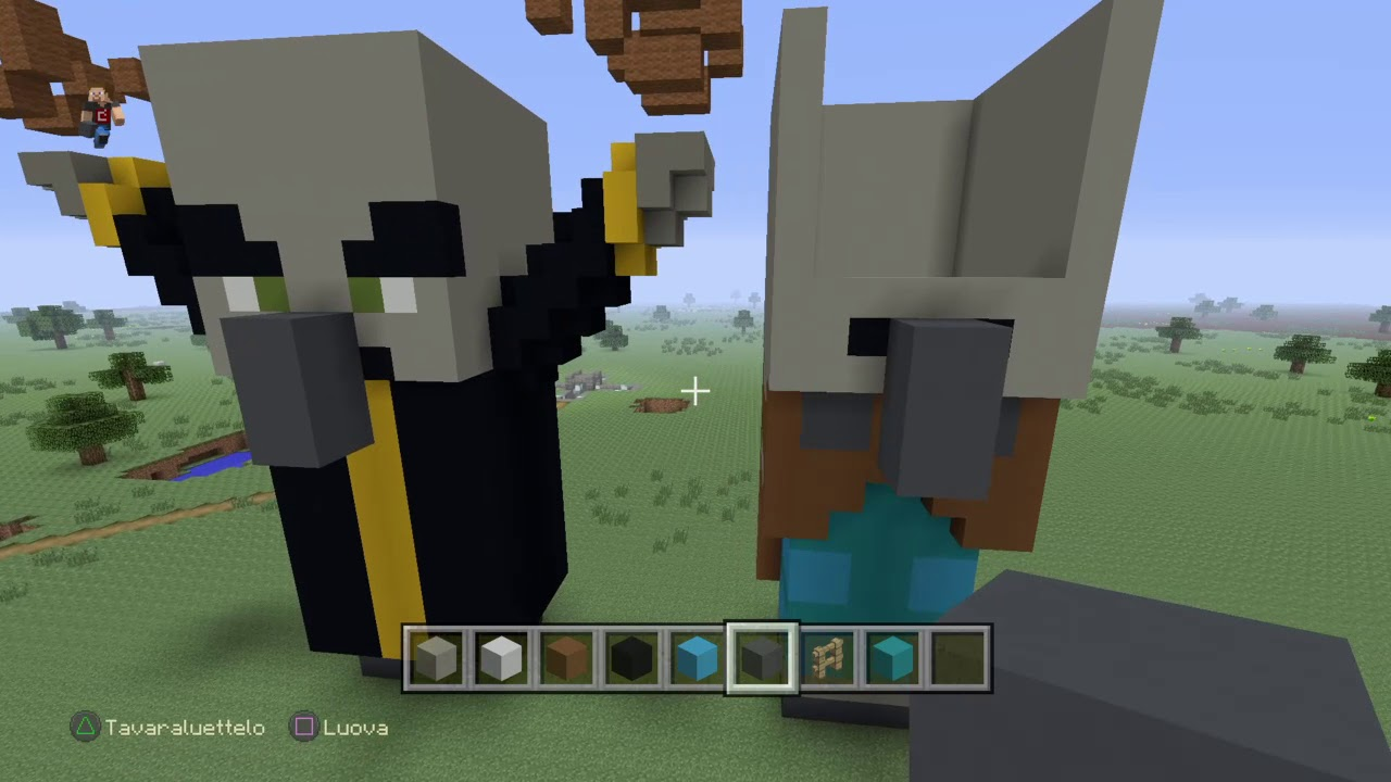 Minecraft: how to build a giant Vindicator