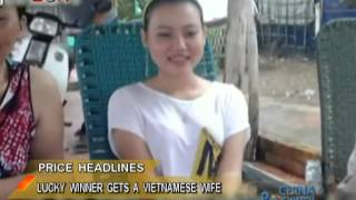 Lucky draw in China wins a Vietnamese wife - China Price Watch - November 11, 2013 - BONTV China
