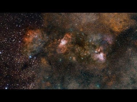 ESOcast 111 Light - VST Captures Glowing Celestial Triplet - HD