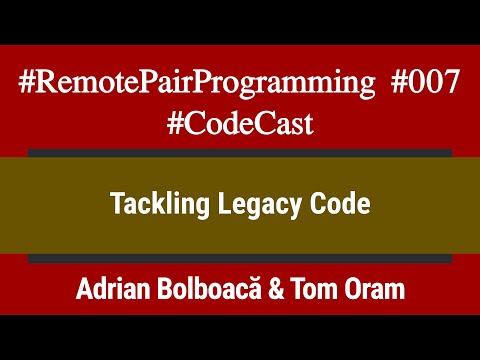 #RemotePairProgramming Ep 007: Adi & Tom - Tackling Legacy Code