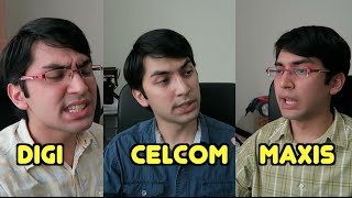 DIGI vs CELCOM vs MAXIS under heavy fire!