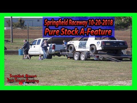 Pure Stock - A-Feature - Lil Buck 31 - Springfield Raceway 10/20/2018