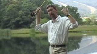 Dusty Wissmath's Fly Fishing School Casting Tip Rod Position