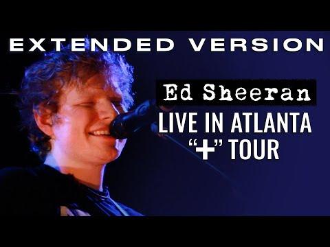 Ed Sheeran Tour In Atlanta