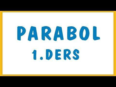 Parabol 1.ders Şenol Hoca Matematik