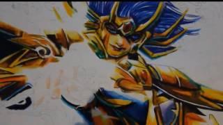 Speed Drawing- Os Cavaleiros Do Zodíaco Mascara Da Morte De Cancer