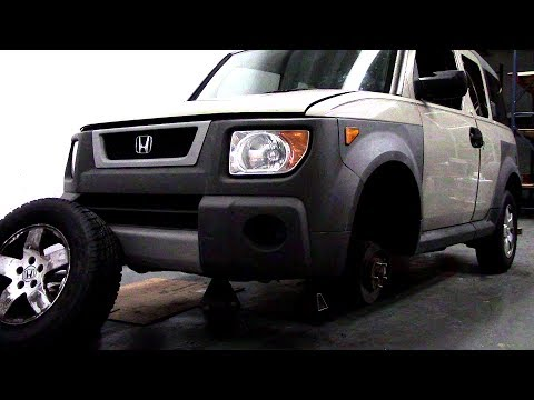 Honda Element Control Arm Bushing Replacement