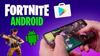 FORTNITE MÓVIL: TODO LO QUE TIENES QUE SABER🔥 Fortnite en ANDROID   PolGames   Gameplay en Español