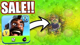 CHEAPER THEN EVER BEFORE!! - Clash Of Clans - OPPORTUNITY TO MAX HERO'S!