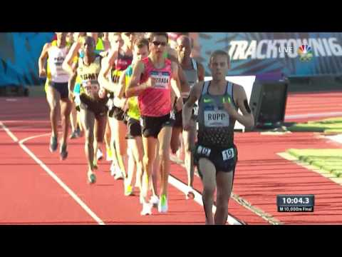 Thumbnail: Olympic Track And Field Trials | Galen Rupp Wins 10,000m Final
