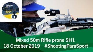 R6 Mixed 50m Rifle prone SH1 | 2019 World Shooting Para Sport Championships