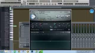 Как сделать голос робота в FL Studio, vocodex vst