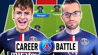 ⚔️ 1 VS 1 CAREER BATTLE CHALLENGE ZW VS GIUSE360 con il PSG⚽️