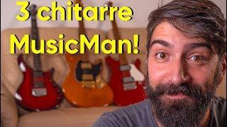 TRE CHITARRE (ANCHE QUELLA DI PETRUCCI dei DREAM THEATER) | Unboxing MusicMan
