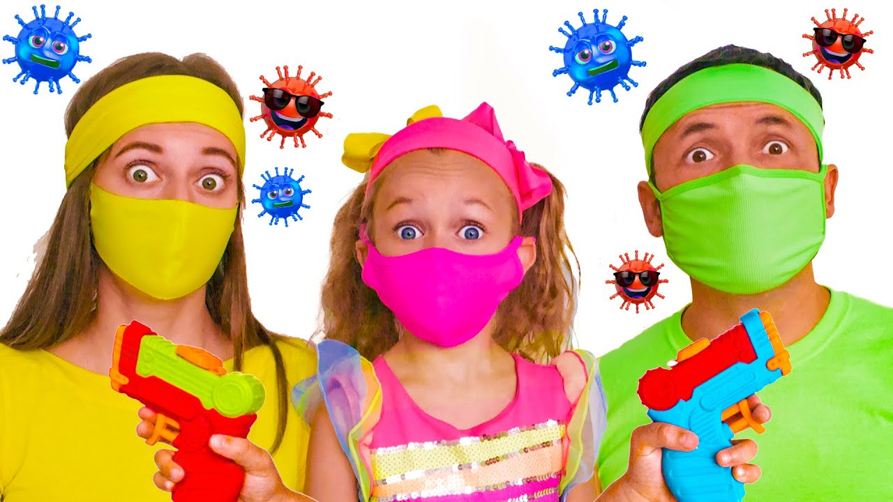 Maya and story about microbes + More Kids Songs by Maya and Mary