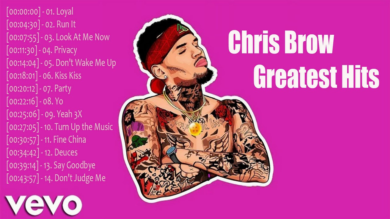Chris Brown Greatest Hits Collection Songs | Chris Brown ...