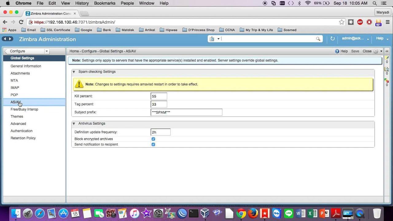 Change periode update database anti virus on zimbra mail server change periode update database anti virus on zimbra mail server xflitez Image collections