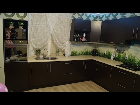 видео: Моя кухня/ Кухня своими руками/ room tour
