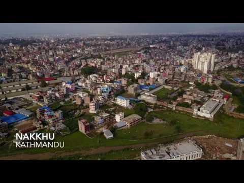 Kathmandu (Aerial Shot)