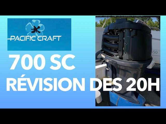 Pacific Craft 700 Sun Cruiser Ep 15 - La révision des 20 Heures - Cap Ferret Bassin d'Arcachon