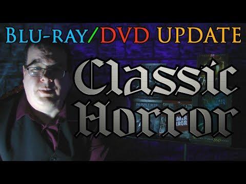 Classic Horror Blu-ray/DVD Update