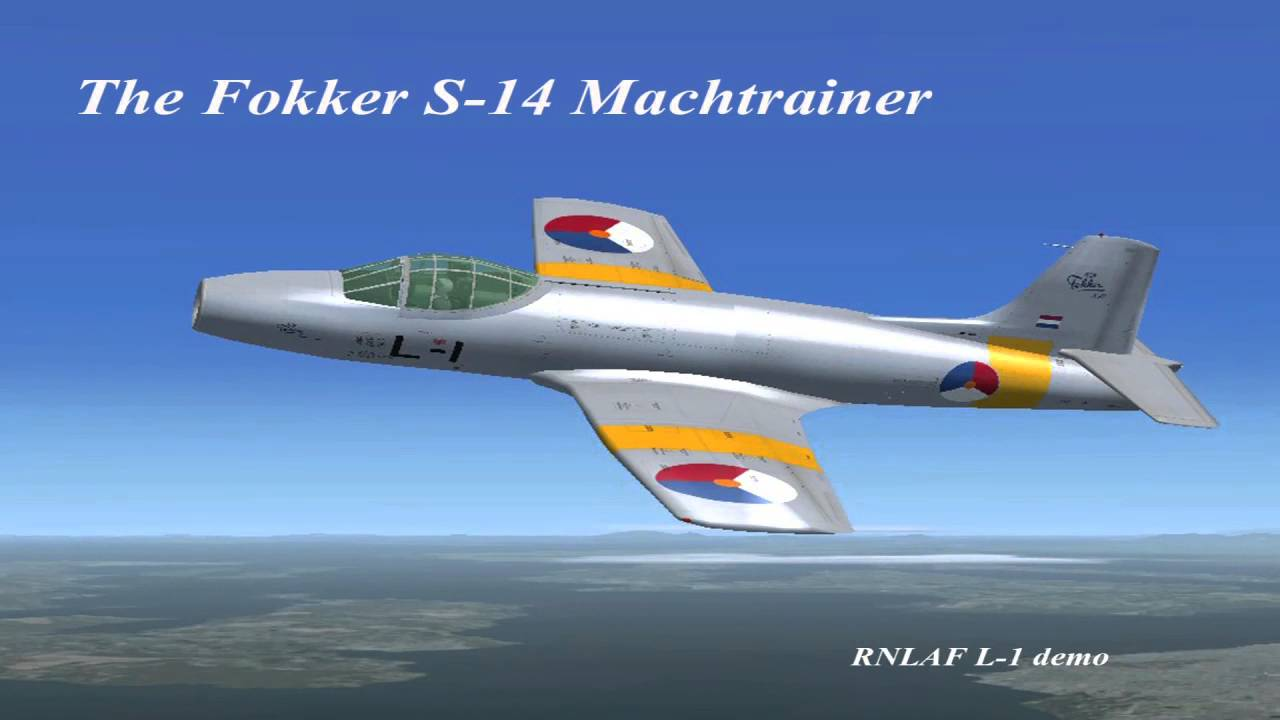 Presenting the Fokker S 14 Mac...