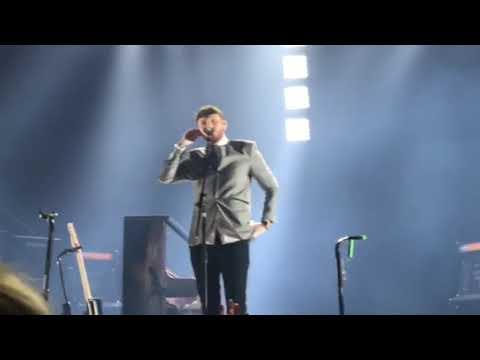 James Arthur - Naked. @Newcastle Metro Radio Arena 18.11.17 Back From The Edge Arena Tour