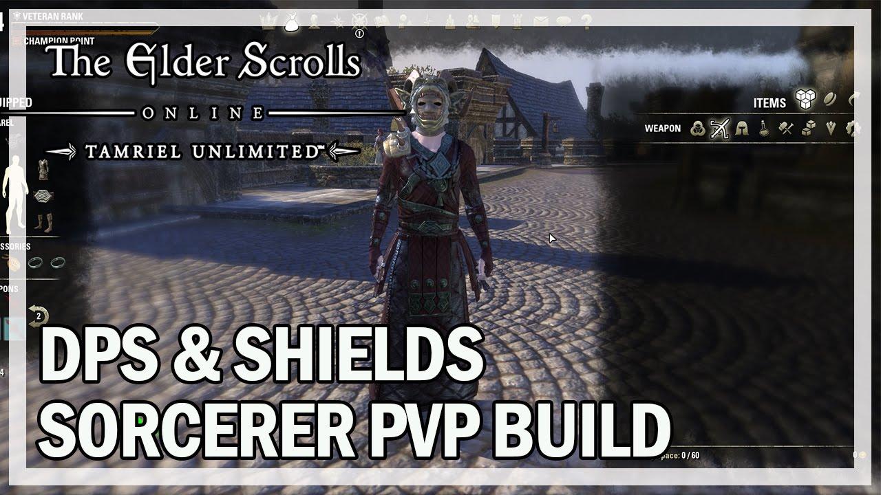 Build Pvp Sorcerer Eso