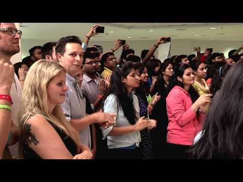 Jio Flashmob organized by Digital Media Services