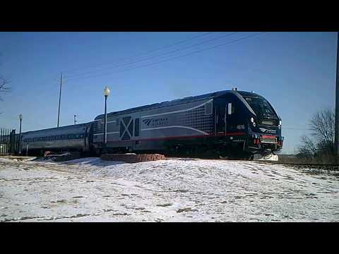 Amtrak Charger #4616 Quincy, Illinois 01-05-18