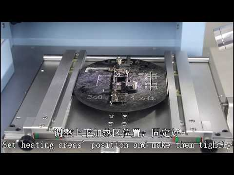 Dinghua DH-G730 Automatic Iphone Mobile Phone IC Soldering Station BGA Desoldering Rework Machine