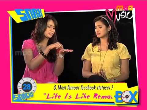 Vj Actress Soumya Snacks