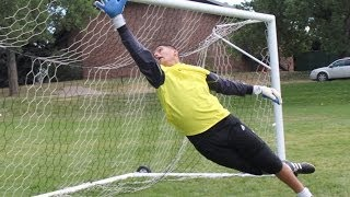Goalkeeper training: agility and reaction Drills