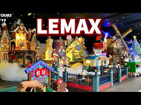 Complete Lemax Christmas Village Decorations 2019