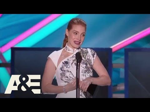 Jessica Chastain Accepts the MVP Award - 2015 Critics' Choice Movie Awards | A&E