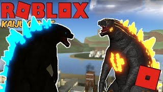 Roblox Kaiju Online - NEW GODZILLA AND FIRE GODZILLA REMAKE UPDATE!
